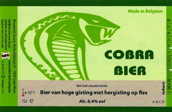 Cobra Bier_brouwerij danny